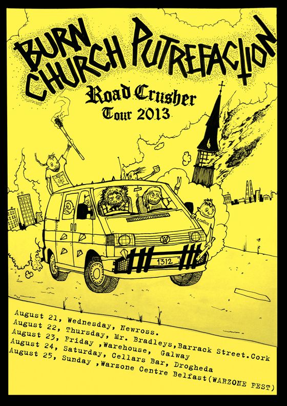 Putrefaction Road Crusher Tour