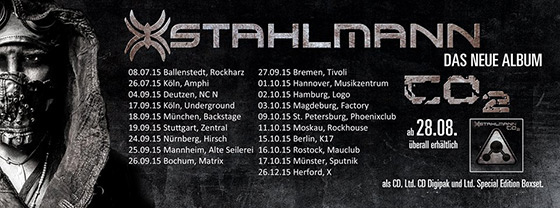 Stahlmann 2015 Tour Dates